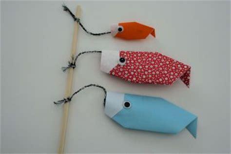 origami fishing pole carp origami and kites on