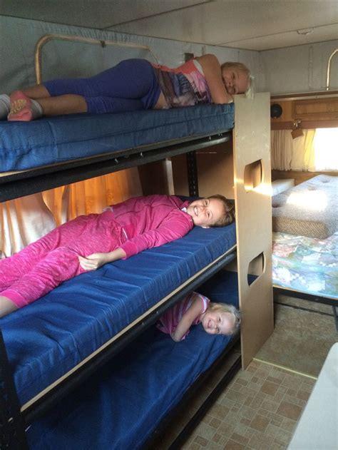 travel bunk beds the 25 best caravan bunks ideas on bunkhouse