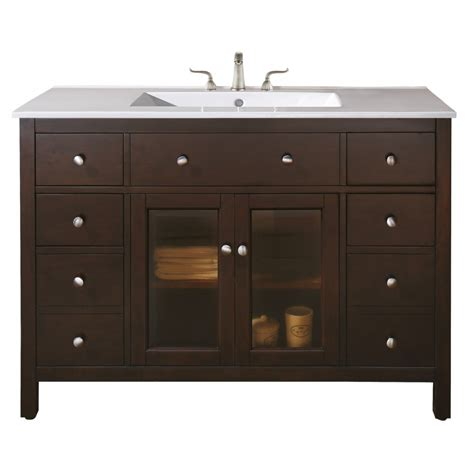 48 inch single sink bathroom vanity with choice of top uvaclexingtonvs48le