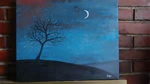 paint nite with quot sky quot painting lesson part 1