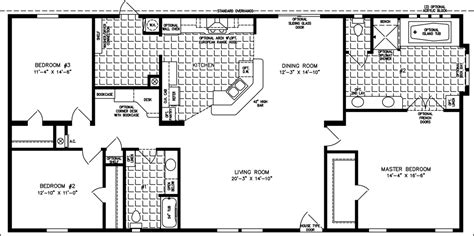 floor plans for 1800 sq ft homes 1800 to 1999 sq ft manufactured home floor plans