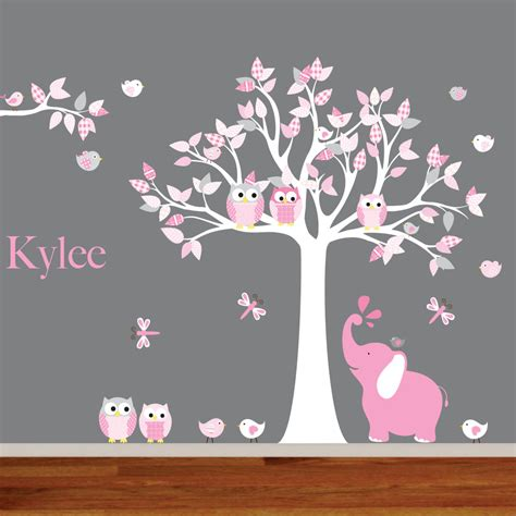 wall nursery decals wall decals nursery nursery wall decal elephant decal