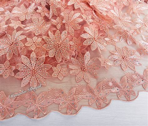 beaded lace fabric lovely beaded lace floral tulle