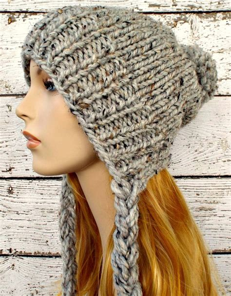 knit hat with ear flaps free patterns earflap hat knitting patterns in the loop knitting