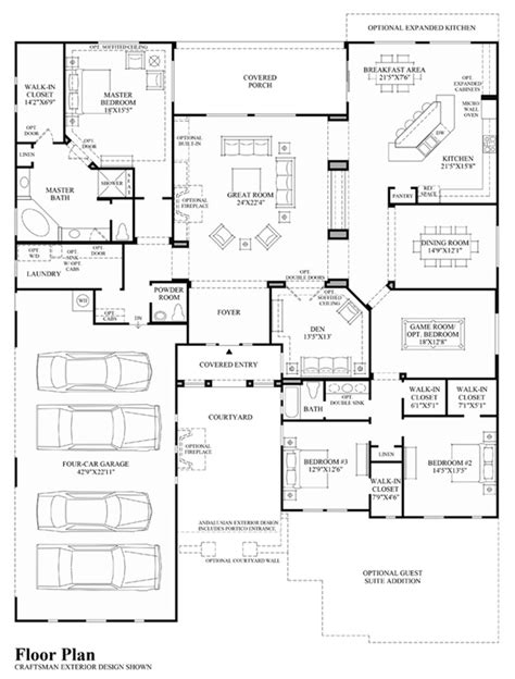toll brothers floor plans dorada estates the costellana home design