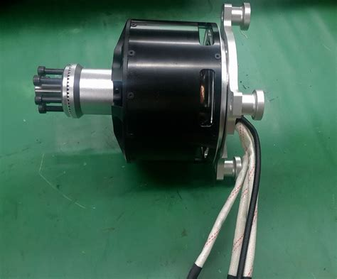 15kw Electric Motor by Watercooling Brushless Dc Motor 15kw Mp12090 Kv130 For