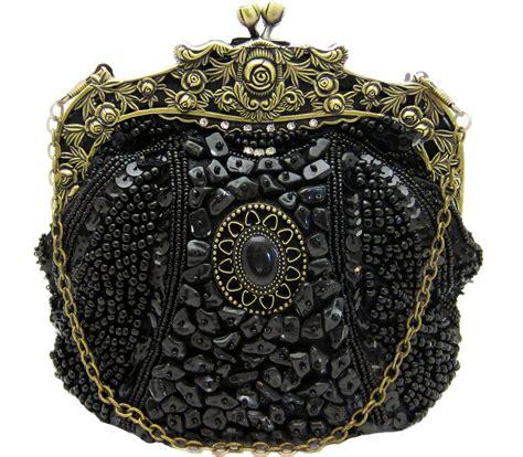 vintage beaded handbags vintage beaded black handbag evening bag purse swarovski