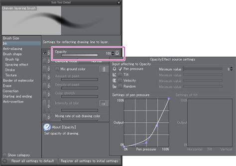 paint tool sai anti aliasing release note clip studio paint clip studio net