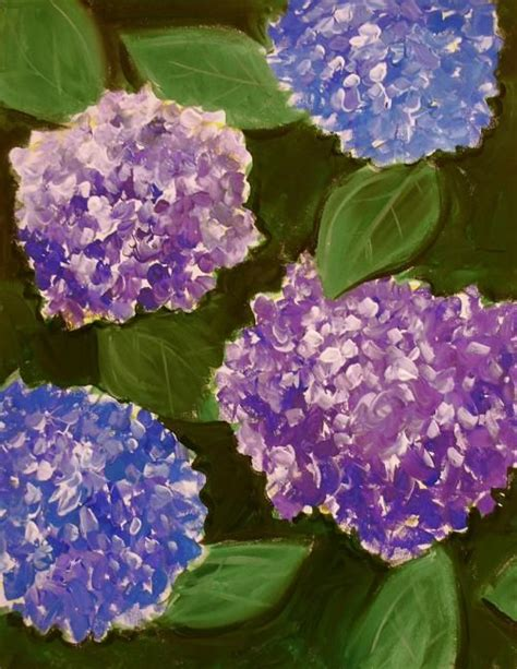 acrylic painting hydrangeas 17 best images about paint on paint