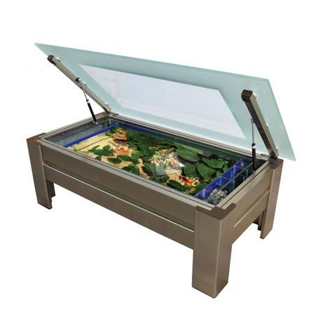 table basse rectangulaire aquarium table aquarium aquariums