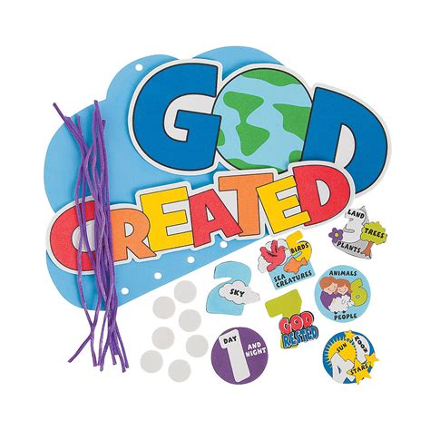 creation crafts for 7 days of creation mobile craft kit decoration crafts