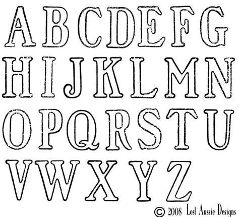rubber st alphabet large lettering stencils free