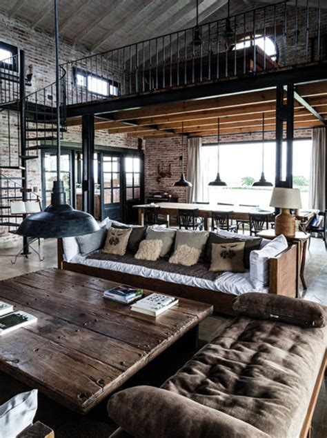industrial decor interior design style industrial chic home decorating