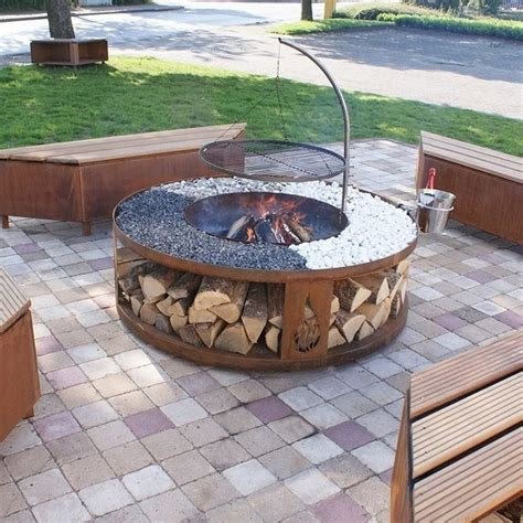 grill for pit pit grill designs ideas for your backyard