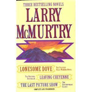 the last picture show book larry mcmurtry three complete novels lonesome dove