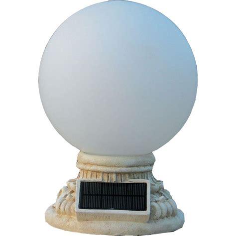homebrite solar lights homebrite solar 9 light solar white outdoor led globe