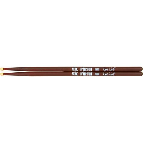 signature woodworking vic firth dave weckl signature drumsticks wood musician