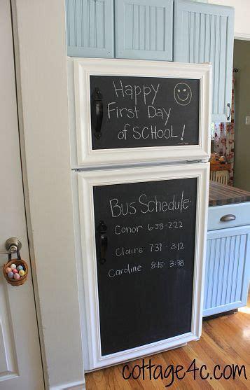 chalk paint not covering framed chalkboard chalkboard fridge and chalkboards on