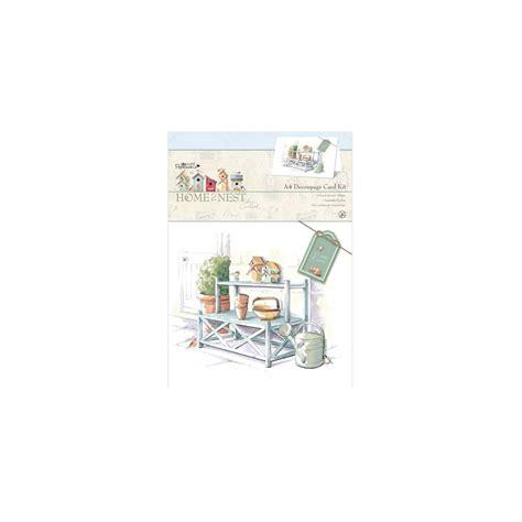 decoupage card kits a4 decoupage card kit home to nest