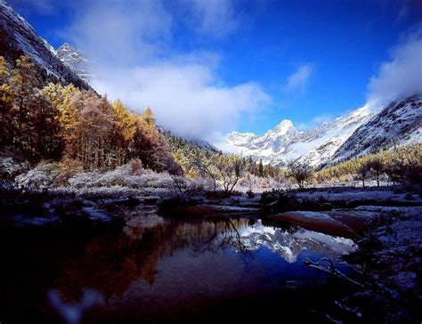 breathtaking scenery breathtaking scenery of mount siguniang china org cn