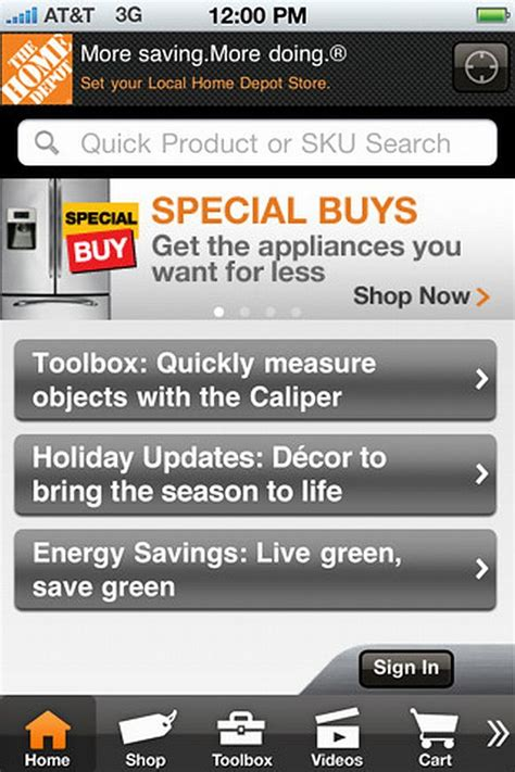 home depot paint iphone app the home depot unveils improved iphone app