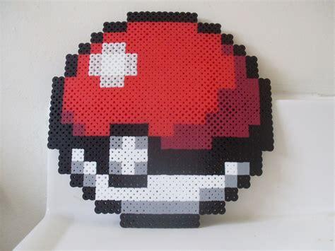 Pokeball Perler Creatief