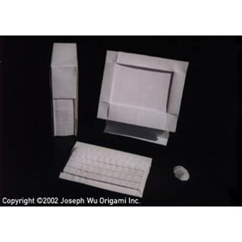 how to make a origami computer joseph wu s origami page