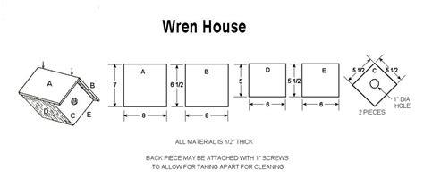 house wren birdhouse plans build a wren bird house with free plans craftybirds