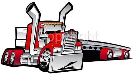 big rig flatbed cartoon details about cartoon kenworth
