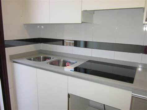 encimeras de cocina compac foto encimera de cocina en compac ceniza de marmoleria sa