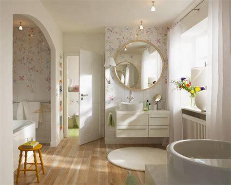 Badezimmermöbel Designklassiker by Florale Muster Im Badezimmer Sch 214 Ner Wohnen