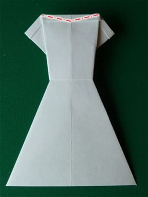 easy origami dress money origami dress folding with photos