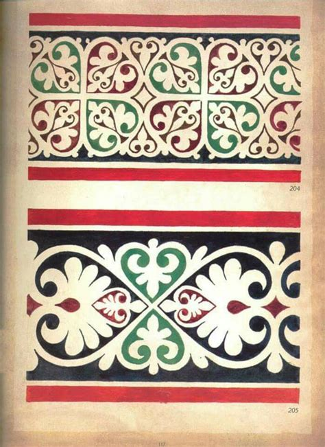 fresco pattern 2211 best ornaments images on ornaments
