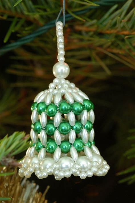 beaded bell ornament beaded bell photo bill mondjack photos at pbase