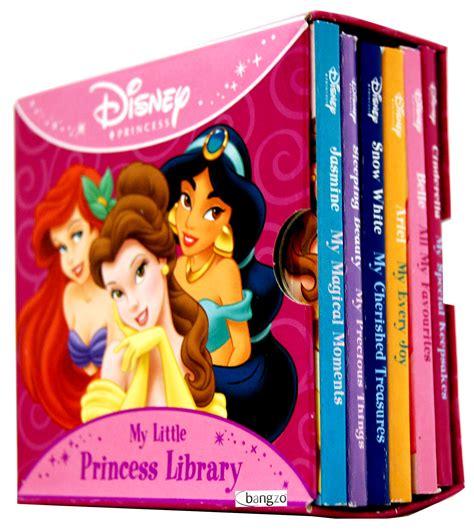 princess picture books disney princess my library 6 board books set ebay
