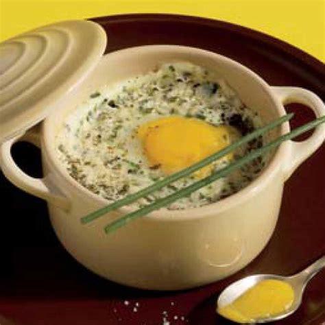 œuf de caille en cocotte et en faisselle fa 231 on cervelle de