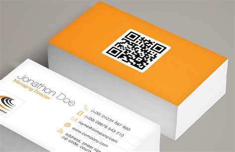 how to make a qr code business card qr code business card template medialoot
