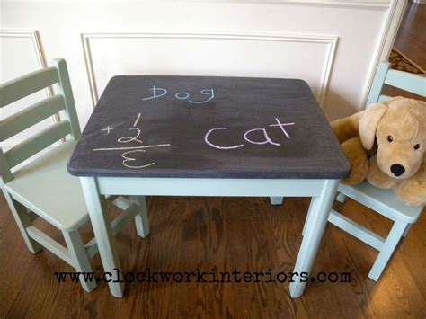 chalkboard paint table best 25 chalkboard table ideas on chalkboard