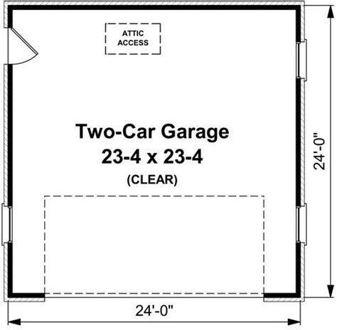 garage floor plan 0 bedroom 0 bath house plan alp 05na allplans
