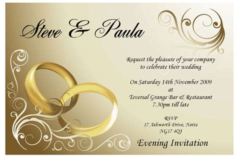 card ideas and templates wedding card invitation theruntime