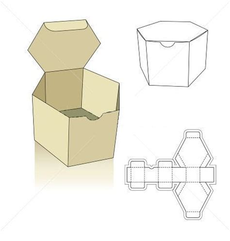 polygon box template hledat googlem boxes ideas
