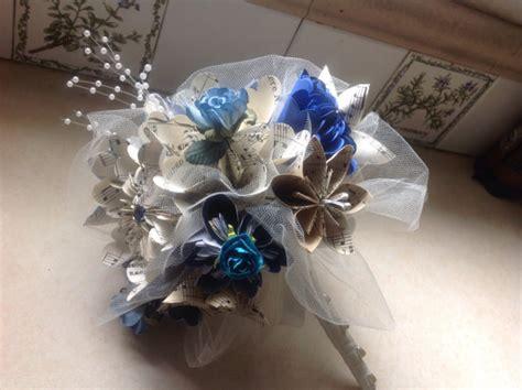 origami kusudama flower bouquet kusudama wedding bouquet includes 8 origami flowers