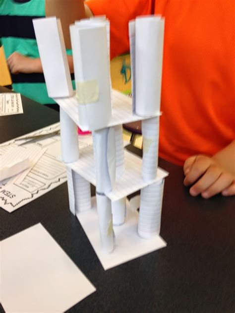 what to make out of index cards stem activity challenge build a tower with index cards