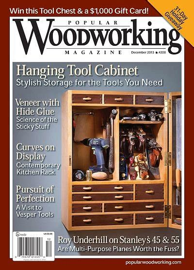 woodworking magazines free popular woodworking 208 december 2013 187 hobby magazines