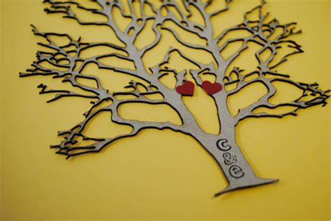 laser tree valentines laser cut paper tree of custom by