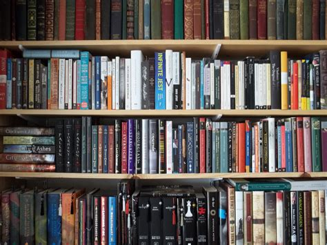 pictures of books on a shelf a bookshelf of organized chaos c b wentworth