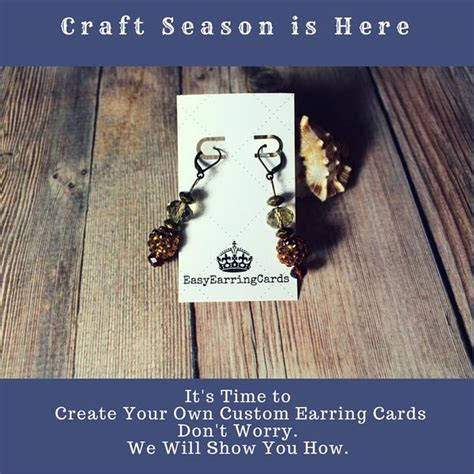 make your own earring cards how to design your own earring cards with quot canva quot easy