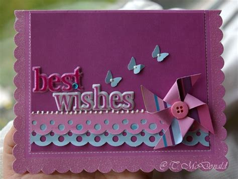 how to make wishing cards best wishes pinwheel card