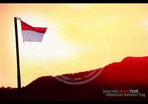 bendera merah putih bendera sangsaka merah putih hut ri 69