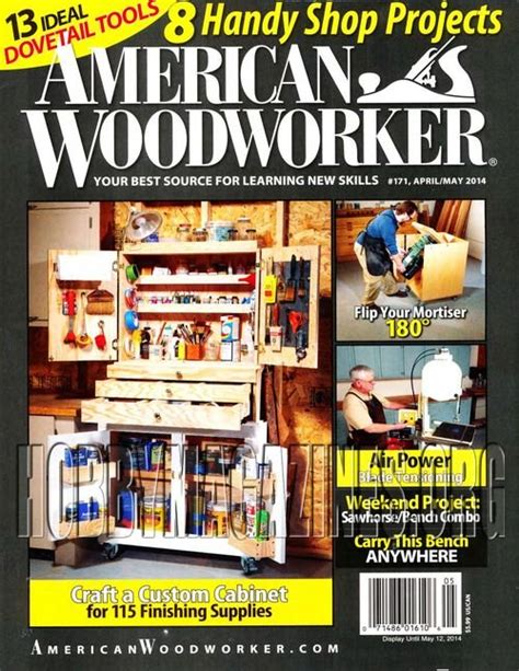 american woodworker back issues american woodworker 171 april may 2014 187 hobby